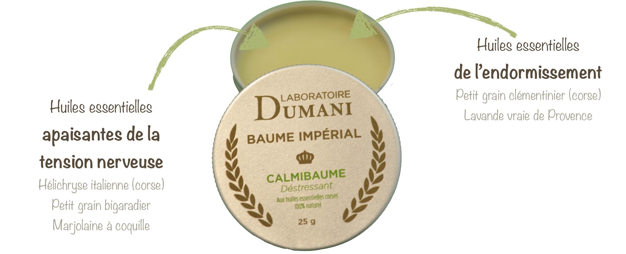 Les huiles essentielles du Calmibaume