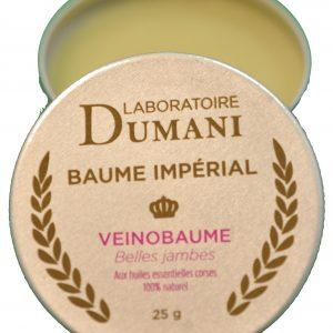 Veinobaume, baume aux huiles essentielles drainantes